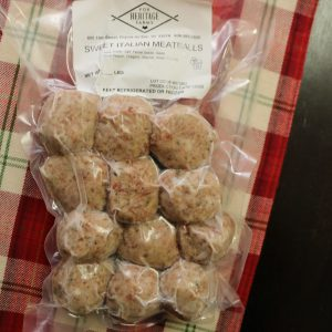 Sweet Italian Meatballs